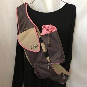 Backpack Diaper Bag Over shoulder